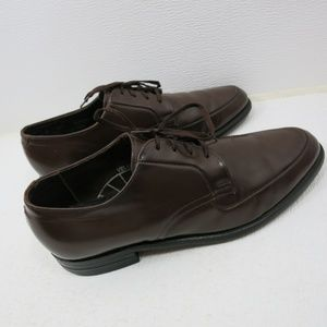 Leather Classics Shoes - Leather Classics Brown Dress Fashion Oxfords 9.5